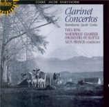 Three English Clarinet Concertos