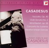 CASADESUS - Casadesus - Toccata op.40