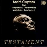 BIZET - Cluytens - L'arlésienne, suite pour orchestre n°1 WD.40