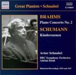 BRAHMS - Schnabel - Concerto pour piano et orchestre n°2 en si bémol maj