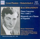 RACHMANINOV - Sargent - Concerto pour piano n°1 en fa dièse mineur op.1