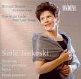 STRAUSS - Isokoski - Vier letzte Lieder (Quatre derniers lieder), pour s
