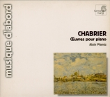 CHABRIER - Planès - Dix pièces pittoresques