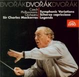 DVORAK - Mackerras - Variations symphoniques pour orchestre op.78 B.70