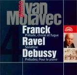 FRANCK - Moravec - Prélude, choral et fugue, pour piano en si mineur FWV