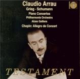 GRIEG - Arrau - En automne op.11 : premiere version pour piano (quatre m