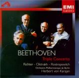BEETHOVEN - Richter - Triple concerto pour piano, violon et violoncelle