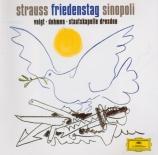 STRAUSS - Sinopoli - Friedenstag (Jour de paix), opéra op.81