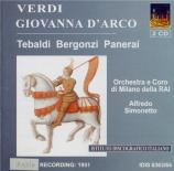 VERDI - Simonetto - Giovanna d'Arco (La pucelle d'Orléans), opéra en tro live RAI Milano 1951