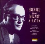 MOZART - Brendel - Concerto pour piano et orchestre n°17 en sol majeur K