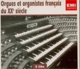 Orgues et organistes français du 20ème siècle