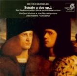 BUXTEHUDE - Quintana - Sonate pour violon, viole de gambe et basse conti