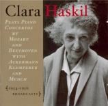 Clara Haskil in Performance : Concertos