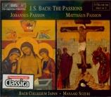 BACH - Suzuki - Passion selon St Jean(Johannes-Passion), pour solistes
