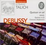 DEBUSSY - Talich Quartet - Quatuor à cordes op.10 L.85