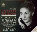 VERDI - Kleiber - I vespri siciliani, opéra en cinq actes (version 1855 live Firenze 1951