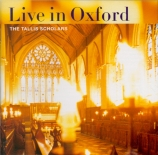 Live in Oxford : Oeuvres de Taverner, Obrecht, Josquin des prés, Byrd, Live in Oxford