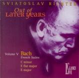BACH - Richter - Capriccio sopra la lontananza del suo fratello dilettis Live Moscow, 22 - 05 - 1991