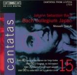Cantatas Vol.15