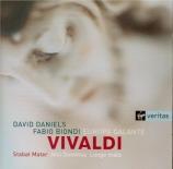 VIVALDI - Daniels - Stabat Mater en fa mineur, pour alto, cordes et b.c