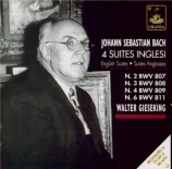 BACH - Gieseking - Suite anglaise n°2 BWV 807