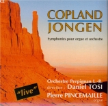 JONGEN - Tosi - Symphonie concertante pour orgue et orchestre op.81