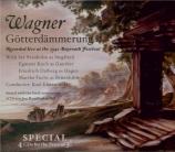 WAGNER - Elmendorff - Götterdämmerung (Le crépuscule des dieux) WWV.86d live Bayreuth, 21 - 7 - 1942