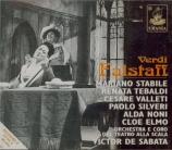 VERDI - De Sabata - Falstaff, opéra en trois actes