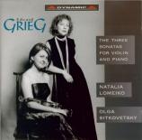 GRIEG - Lomeiko - Sonate pour violon et piano n°1 op.8