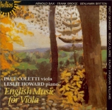 English Music for Viola