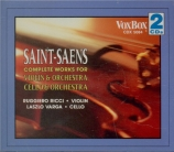 SAINT-SAËNS - Ricci - Introduction et rondo capriccioso op.28