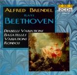 BEETHOVEN - Brendel - Variations Diabelli, trente-trois variations pour