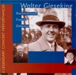 DEBUSSY - Gieseking - Fantaisie pour piano et orchestre L.73