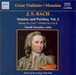 Sonates et partitas Vol.2