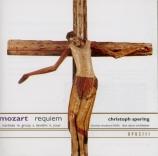 MOZART - Spering - Requiem pour solistes, chœur et orchestre en ré mineu + fragments autographes