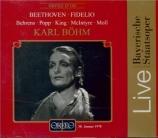 BEETHOVEN - Böhm - Fidelio, opéra op.72 (Munich, 30-01-1978) Munich, 30-01-1978