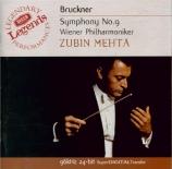 BRUCKNER - Mehta - Symphonie n°9 en ré mineur WAB 109