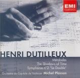 DUTILLEUX - Plasson - Symphonie n°2 'Le double'