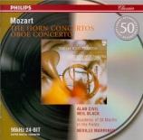 MOZART - Marriner - Concerto pour cor et orchestre n°1 en ré majeur K.41