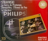 STRAVINSKY - Davis - Le sacre du printemps, ballet pour orchestre