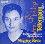 Solos and Trio Sonatas for Recorder