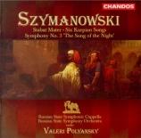 SZYMANOWSKI - Polyanskii - Stabat mater op.53