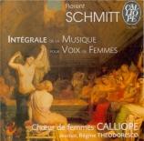 Musique pour voix de femmes (Intégrale)