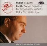 DVORAK - Kertesz - Requiem, pour soprano, contralto, ténor, basse, choeur