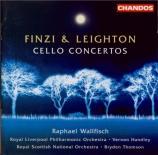 FINZI - Wallfisch - Concerto pour violoncelle et orchestre op.40