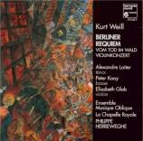 WEILL - Herreweghe - Berliner Requiem