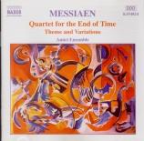 MESSIAEN - Amici Ensemble - Quatuor pour la fin du temps