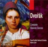 DVORAK - Järvi - Huit danses slaves op.46, version pour orchestre op.46