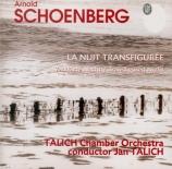 SCHOENBERG - Talich - Verklärte Nacht (La Nuit transfigurée), pour orche