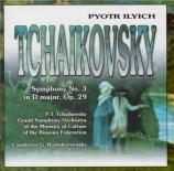TCHAIKOVSKY - Rozhdestvensky - Symphonie n°3 en ré majeur op.29